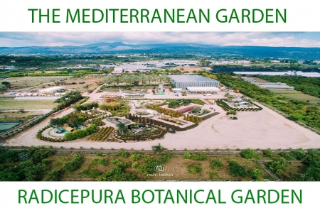 The Biennal Mediterranean Garden at Radicepura Botanical Park